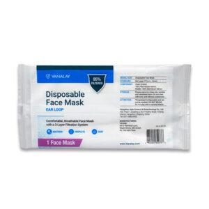 individually wrapped masks vanalay