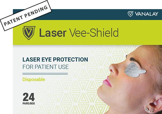 laser vee shield patent pending